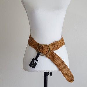 INC International Concepts Braided belt